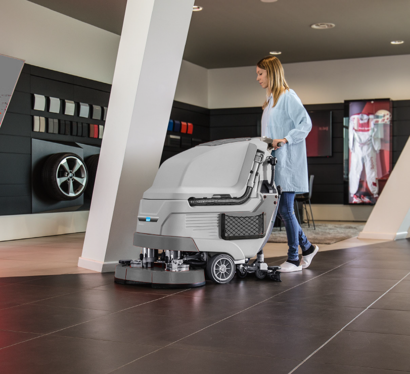 ICE Walk On Scrubber for Hire